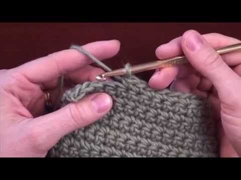 Crochet Decreases: Decreasing 1 Stitch in Single or Half Double Crochet