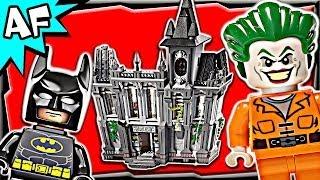 getlinkyoutube.com-Batman ARKHAM ASYLUM Breakout 10937 Lego DC Comics Super Heroes Build Review