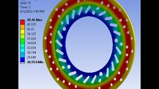 getlinkyoutube.com-ANSYS: Thermal analysis of DISC BRAKE