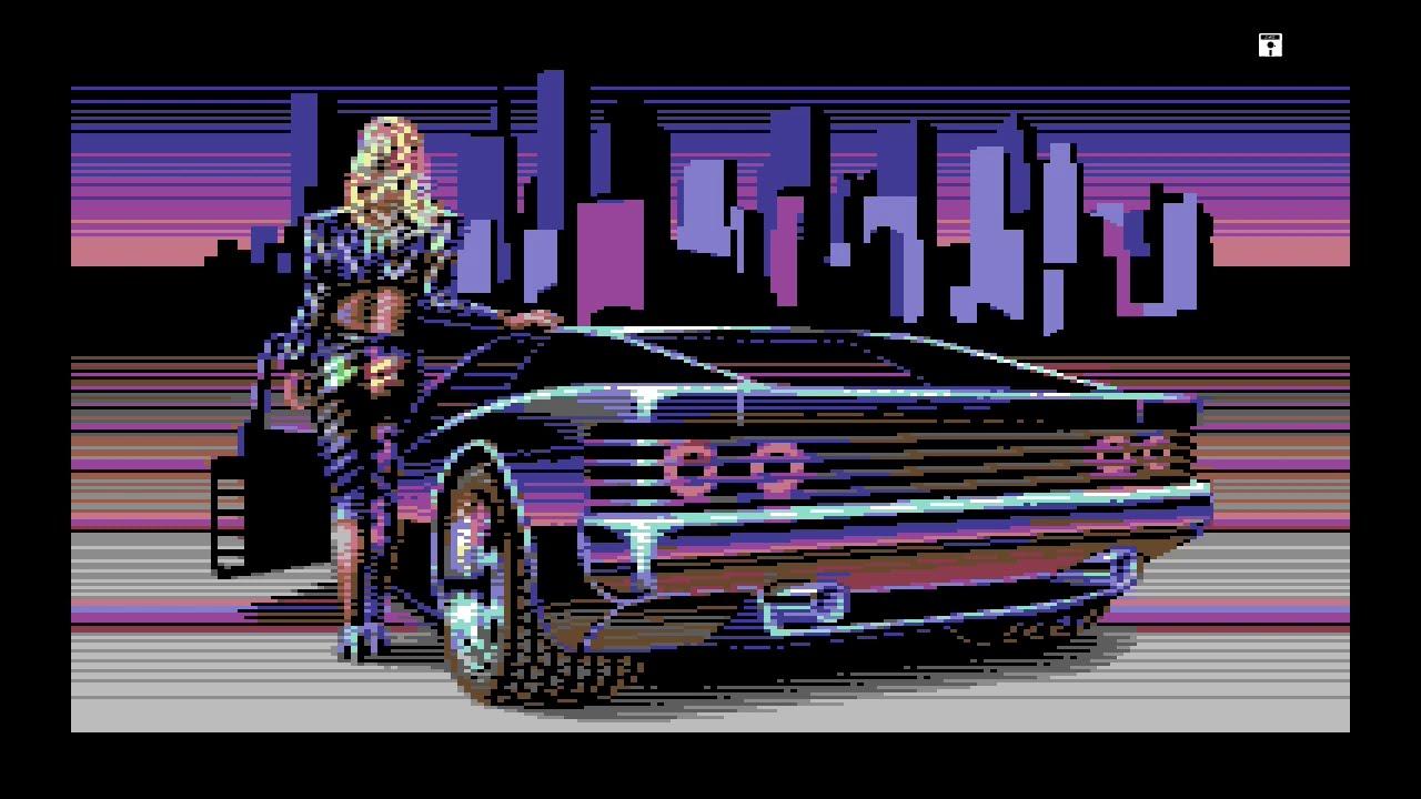 TRAID NEON C64 demo