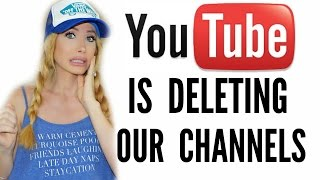 getlinkyoutube.com-YOUTUBE IS DELETING OUR CHANNELS