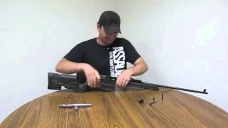 getlinkyoutube.com-Archangel Manufacturing AA9130 Mosin Nagant Polymer Stock Installation & Review Part I