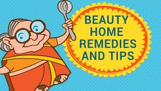 getlinkyoutube.com-Beauty Natural Home Remedies and Tips For Skin, Hair and Face | DIY|Tips To  Look Younger Naturally