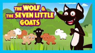 getlinkyoutube.com-The Wolf and The Seven Little Goats Story | Animated Stories For Kids - Full Story By Kids Hut