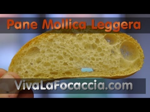 Ricetta Pane Semplice con Mollica Leggera