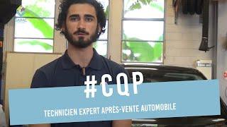 Florian Lemoine CQP Technicien Expert Après-Vente automobile