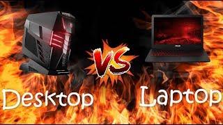 Desktop VS Laptop Gamers