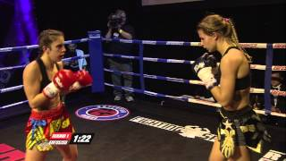 Iman Barlow (England) vs Marina Zueva (Russia)