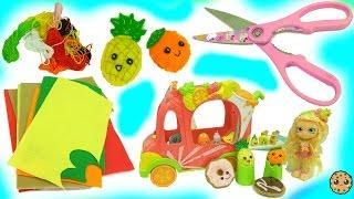 getlinkyoutube.com-Sew Mini Treats  Do It Yourself Make Kawaii Cute Fruits - Easy DIY Felt Craft Book