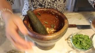 getlinkyoutube.com-Long Green Bean Salad & Papaya Salad