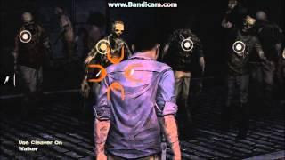 ₪ Lee's Epic 'Zombie Gauntlet' Scene (The Walking Dead Game - Episode 5) ₪