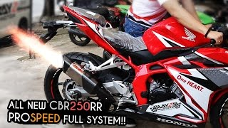 getlinkyoutube.com-PROSPEED FULL SYSTEM ALL NEW CBR250RR + 1ST PERSON VIEW SOUND CHECK