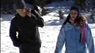 Rebelde - Diego y Roberta se besan en Canada