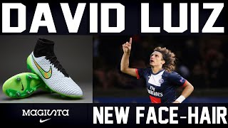 getlinkyoutube.com-Pes 2013 Exclusive Faces ► David Luiz + Signature Boots [Download]