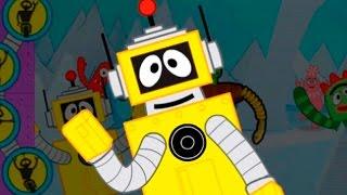 getlinkyoutube.com-Yo Gabba Gabba Plex's Robot Creation Station