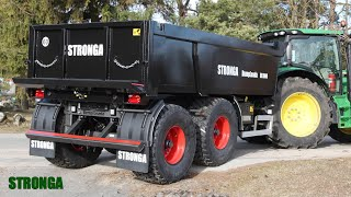 Stronga VibroBody | Pioneering innovation | Dump trailer body vibrating tech