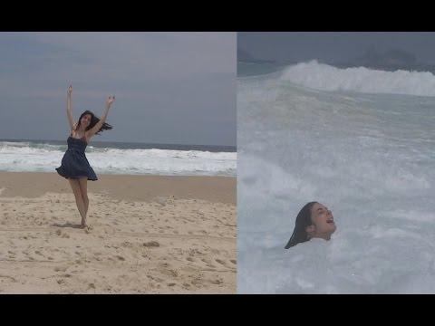 Ferias: Rio de Janeiro | VillageMall, Afogando na praia!