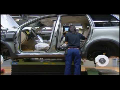 Inside Look at Volvo's Manufacturing Plant