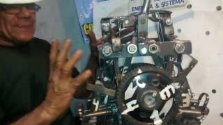 getlinkyoutube.com-Wiltom Inventa- protótipo de  motor movido  a  molas .
