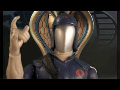 Cobra Commander's Rant on the GI Joe Rise Of Cobra Movie
