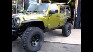 getlinkyoutube.com-RIPP Stg2 Jeep Supercharger Long Tube Headers Sound Clip