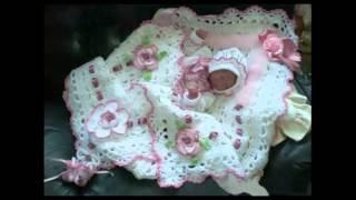 getlinkyoutube.com-Вязание крючком для новорожденных