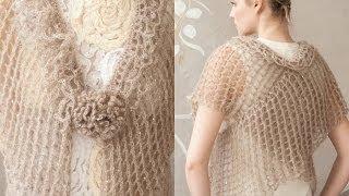 getlinkyoutube.com-#4 Double Wrap, Vogue Knitting Crochet 2012