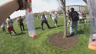 [NERF WAR] Athen's HvZ Event - Humans vs. Zombies
