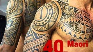 getlinkyoutube.com-40 Powerful Maori Tattoos