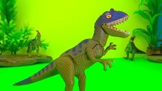 getlinkyoutube.com-Fighting Dinosaurs Dinosaur Battle - Watch the Fun Ending Dinosaur Battle Fight SuperFunReviews