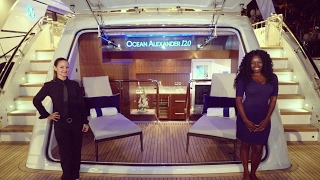 Exclusive Tour of the 2017 Ocean Alexander 120 Yacht at the Miami International Boat Show