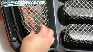 getlinkyoutube.com-customcargrills.com - How To Make a Wire Mesh Grill For Ford F-150