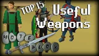 getlinkyoutube.com-Top 15 Useful Oldschool RuneScape Weapons