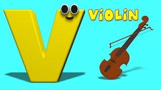 getlinkyoutube.com-Phonics Letter- V song