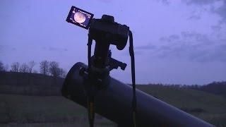getlinkyoutube.com-Connecting a  Nikon DSLR Camera to a Telescope