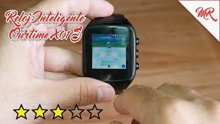getlinkyoutube.com-Reloj Inteligente Ourtime X01S ◊ Review en Español ◊ Marcos Reviews