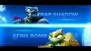 getlinkyoutube.com-SKYLANDERS SWAP FORCE TRAP SHADOW VS STINK BOMB