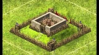 getlinkyoutube.com-My StrongHold Kingdoms castle defense month 1.
