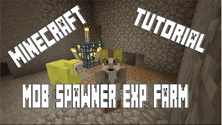 getlinkyoutube.com-Skeleton/Zombie Spawner Experience Farm Tutorial (Minecraft Console Xbox/PS3/PS4)