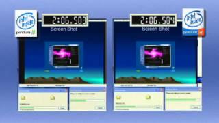 getlinkyoutube.com-Intel Pentium 4 2.0 GHz vs. Intel Pentium III 1.0 GHz (2001)