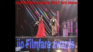 Jio Filmfare awards 2018 full show bollywood