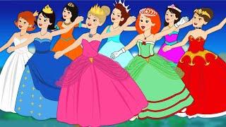 Les 12 Princesses | Nouvelle version | dessin animé en français - Conte pour enfants width=