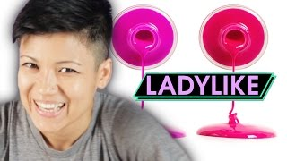 flushyoutube.com-Women Try Instagram Nail Art • Ladylike