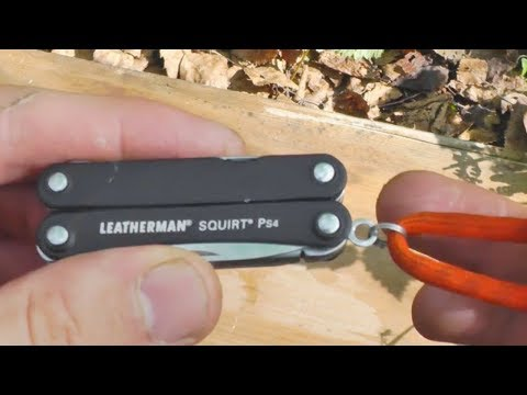 Leatherman squirt PS4 Fail