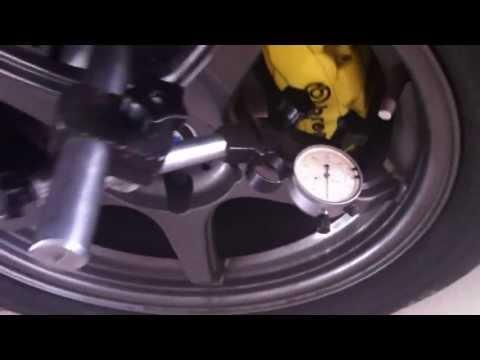 Измерение раскрытия тормозной скобы Brembo 6 pot