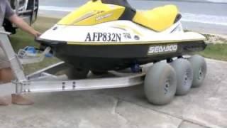 getlinkyoutube.com-The Terrier PWC Jet Ski Trailer