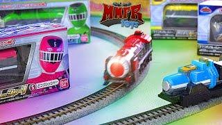 getlinkyoutube.com-ToQger Custom Electric Train Set! (Ressha Sentai ToQger)