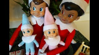 MY ELVES ON THE SHELF GREW UP OVER NIGHT (RARE FOOTAGE)