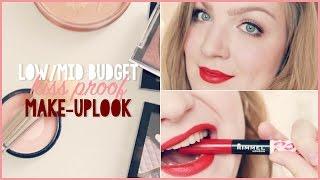 getlinkyoutube.com-Low/mid-budget kiss proof make-uplook