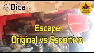 getlinkyoutube.com-Comparativo Escape Original x Esportivo / Discharge Original x Sports | #turmadoquadriciclo